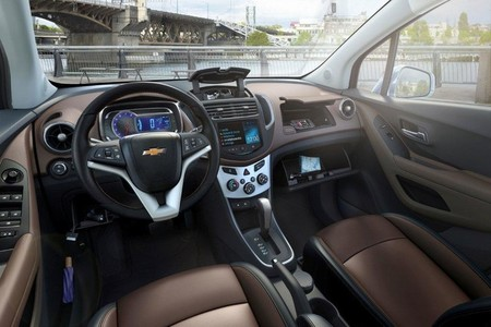 Chevrolet Trax, vista interior