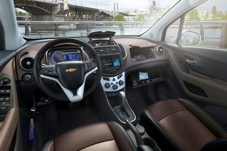Chevrolet Trax, vista interior