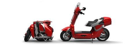 XOR Motors presenta su scooter eléctrica plegable