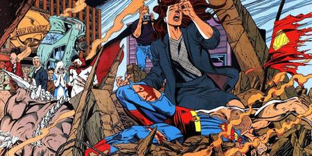 La Nueva Muerte De Superman Otro Competente Film De Animacion Dc Portada
