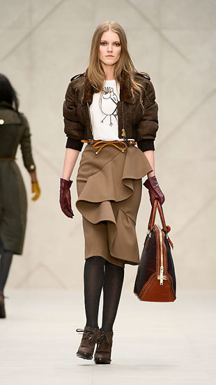Look-botines-Burberry autum 2012