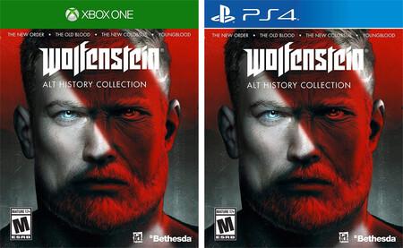 Wolfenstein Alt Story Collection para PlayStation 4 y Xbox One en promoción