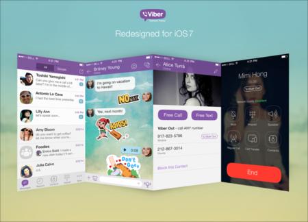 Viber no se rinde y aumenta las capacidades de su cliente para iOS