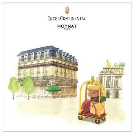 Moynat planta sus fueros, y sus maletas, en el hotel InterContinental de París el tiempo que dura una exposición