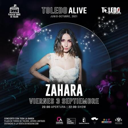 Zahara En Toledo Alive