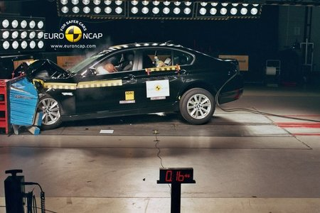 El BMW Serie 5 se enfrenta al test EuroNCAP