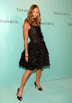 Elle MacPherson en Madrid para inaugurar Tiffany's