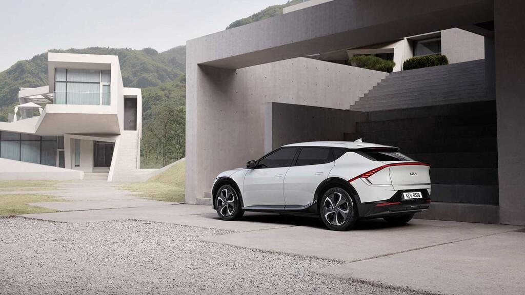 Kia desvela el diseño de su EV6: así es su primer modelo totalmente eléctrico dedicado