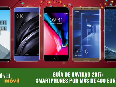 Guía de compras de Navidad: los mejores smartphones por más de 400 euros