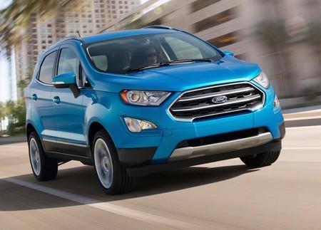 Ford EcoSport 2018: Precios, versiones y equipamiento en México