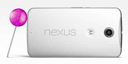Nexus 6 With Android 5 0 Lollipop
