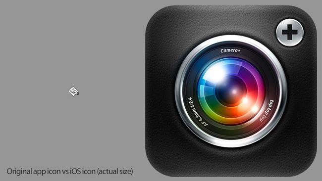 Icono del Macintosh vs icono de iOS