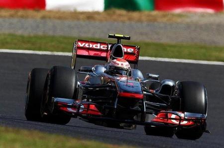 GP de Japón F1 2011: Jenson Button vuelve a llevarse el mejor tiempo