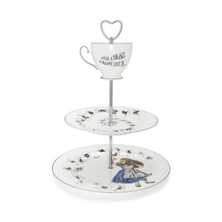 Alice In Wonderland 3 Tier Cake Stand 602345