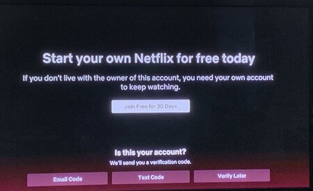 Netflix Account Sharing