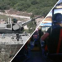 El tanque Carmel de Israel se controla con un mando de Xbox y su interior parece una habitación gaming