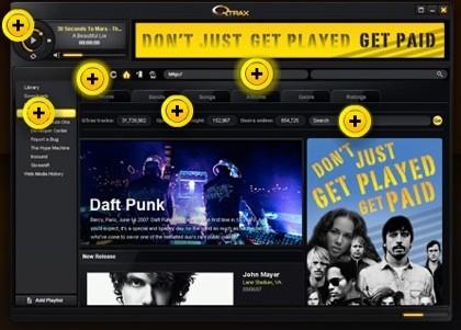 Qtrax, música gratis a cambio de publicidad