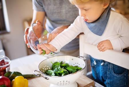 Verduras en la alimentación infantil: espinacas y acelgas