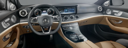 2017 Mercedes Benz E Class Touch Control Steering Wheel