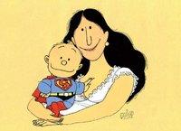 Calendario para 2011 de Unicef en Argentina: Humor y Lactancia Materna