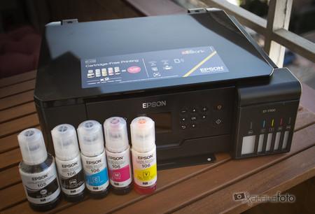 Epson EcoTank ET-7700 análisis: una impresora fotográfica que consigue hacernos olvidar los engorrosos cartuchos de tinta