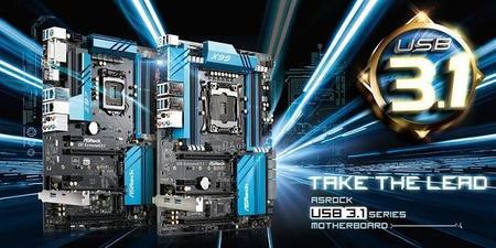 ASRock reparte soporte USB 3.1 Type-A y Type-C a motherboards Z97 y X99