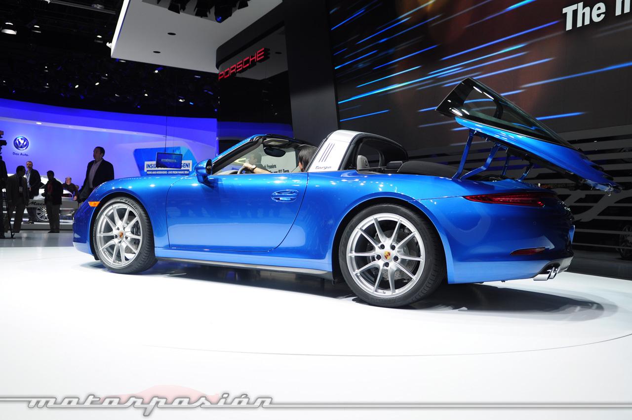 Foto de Porsche 911 Targa 991 (Salón de Detroit) (3/5)