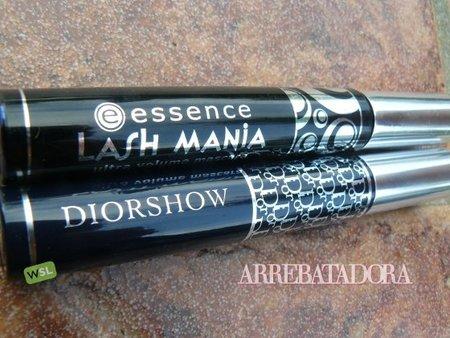 Duelo de máscaras de pestañas: Diorshow vs Lash Mania de Essence