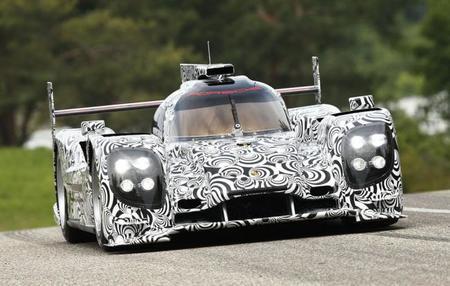 """Porsche """"desvela"""" su nuevo LMP1"""