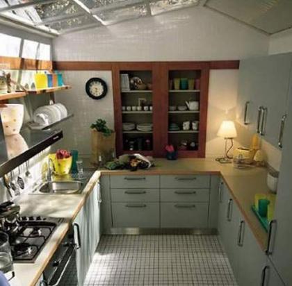 Claves para decorar apartamentos peque os ix cocina for Cocina apartamento pequeno