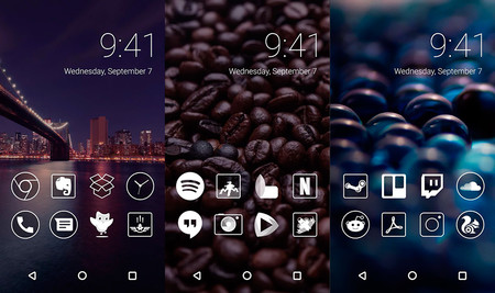 Monoic White Icon Pack