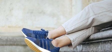 Patchwork tradicional japonés para una magnífica adidas Consortium Iniki Runner