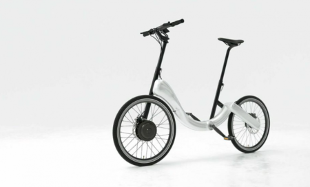 JIVR es una bici plegable y eléctrica, que además soporta iBeacon