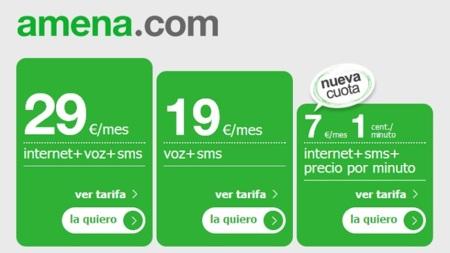 Amena mejora su punto más negativo y rebaja a tres euros el coste del alta para portabilidades