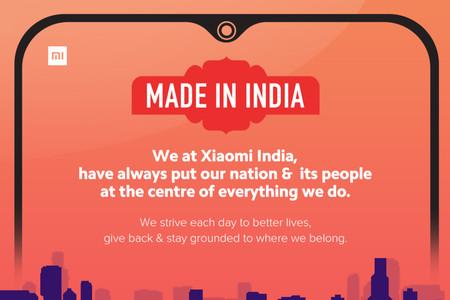 """Orgullosamente """"made in India"""": la campaña de Xiaomi frente al boicot de productos chinos"""