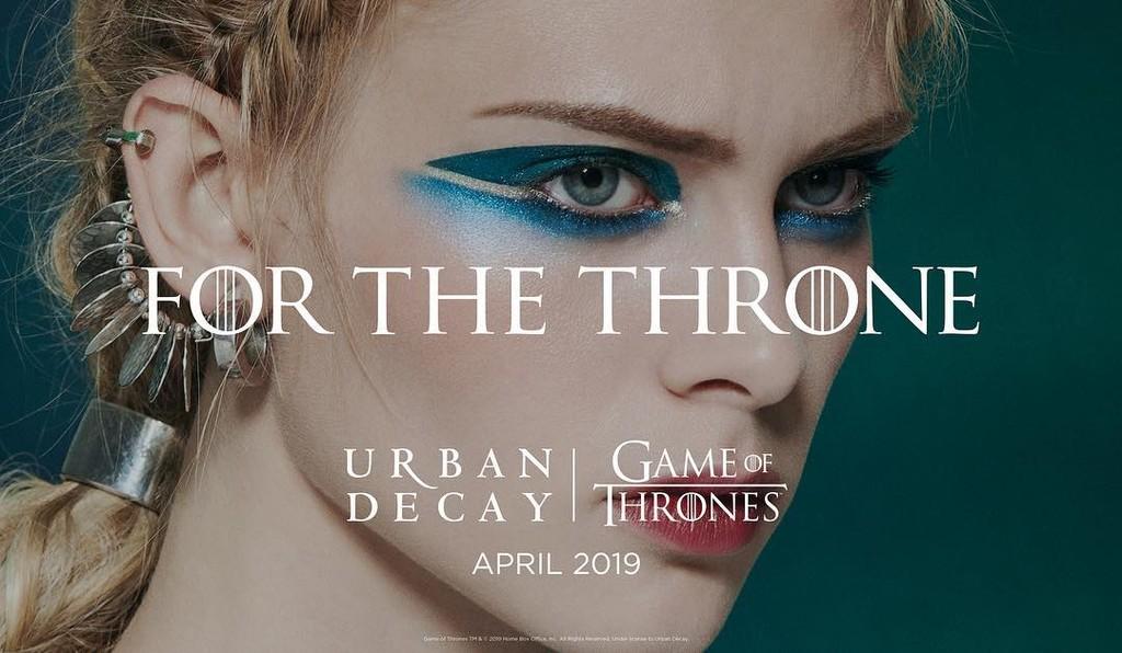 Si también de amar Urban Decay eres fan de Juego de Tronos ya podrias comenzar a alucinar