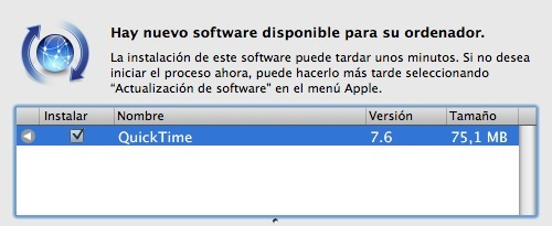 QuickTime 7.6 ya disponible