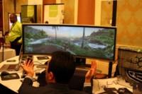 Monitor curvo de Alienware [CES 2008]
