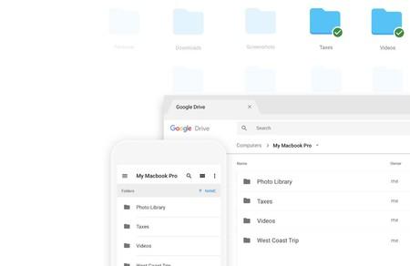 Google actualiza para Windows y Mac la función de backup de Drive, mejorando el soporte para imágenes HEIF