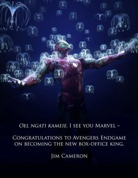 Antes de que China devolviera a la vida a Avatar, Iron Man mandaba...