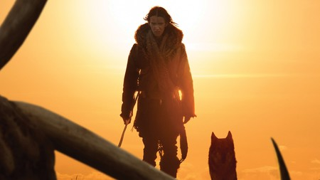 Alpha 2018 Movie Kodi Smit Mcphee Wolf U426