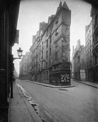 Coine Rue Seine 1924, Eugene Atget