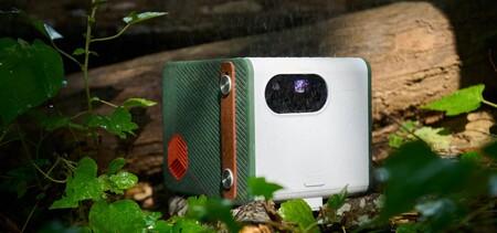 BenQ presenta el GS50, un proyector portátil LED todoterreno con sistema de sonido integrado que podrás usar en exteriores