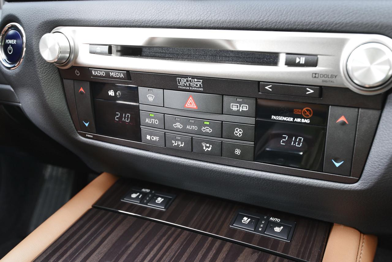 Foto de Lexus GS 300h (29/153)