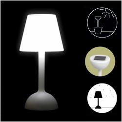 Una lámpara maceta
