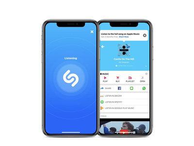 Shazam para iOS se actualiza, ahora escucha canciones también de manera offline