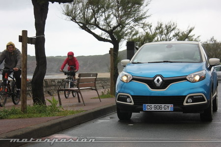 Renault Captur 2013, color azul