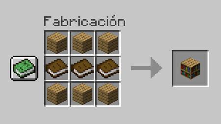 Formula Estanteria Minecraft