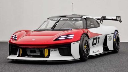 Porsche Mission R Concept: Así lucen más de 1,000 hp en un deportivo eléctrico para la pista