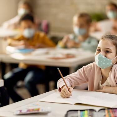 La incidencia de Covid en los colegios es de un uno por ciento